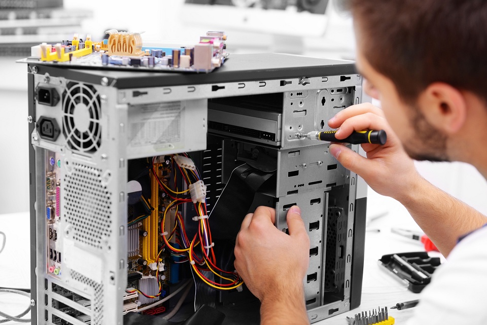 What Does a Computer Repair Technician Do?